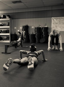 Serious burpee action! Photo Cred: Crossfit Ulster